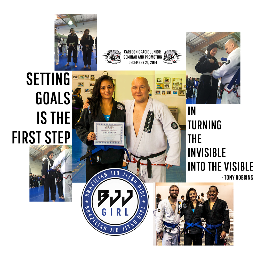 blue belt bjj girl